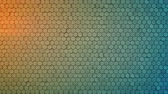 vytepat : Hexagon pattern. Modern 3D render smooth animation. Seamless loop abstract background 4k UHD (3840x2160)