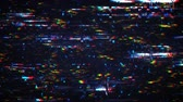 vcr : Glitch effect. Pixelated noise signal on digital screen. Seamless loop animation 4k UHD 3840x2160