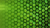 vytepat : Green hexagon pattern. Modern 3D render smooth animation. Seamless loop abstract background 4k UHD (3840x2160)