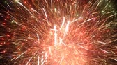 karnawał : Fireworks display event seamless loop Wideo