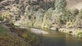 eastern sierra : gimbal down shot of merced river in daytime