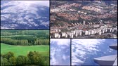 pretty : Aerial view from plane Ecology nature sky clouds