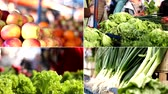 de baixa caloria : vegetables market Stock Footage