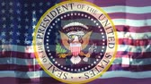 donald trump : Seal of the President of USA,campaign election