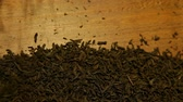 gevşemiş : black tea wooden background nobody hd footage