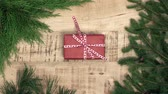 urodziny : Concept of wrapping christmas presents Wideo