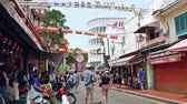 unesco world heritage : Malacca,Malaysia - May 3,2019 : Jonker Street is the centre street of Chinatown in Malacca. It was listed as a UNESCO World Heritage Site on 7 July 2008. People can seen exploring around it.