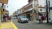 world heritage site : Malacca,Malaysia - May 5,2019 : Jonker Street is the centre street of Chinatown in Malacca. It was listed as a UNESCO World Heritage Site on 7 July 2008. People can seen exploring around it.