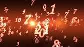 Numerology (ancient science of numbers). Intro template. Video screensaver with text. Quick Time, h264, 16-bit color, highest quality. Smooth gradation of color, without banding effect! 3D animation. Available in high-resolution and several sizes to fit t Stock Footage
