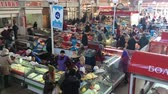 belarus : Gomel, Belarus - March 24, 2018: Local Food Market In Gomel. This Is An Example Of Existing Food Market In Belarus