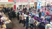 satıcı : Gomel, Belarus - March 24, 2018: Local Food Market In Gomel. This Is An Example Of Existing Food Market In Belarus