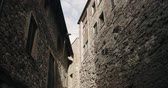 Besalu, Girona, Spain. Narrow Street Of Old Town