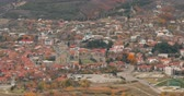 georgien : Mtskheta Georgia. Top View Of Ancient Town And Svetitskhoveli Cathedral During Autumn Day. UNESCO World Heritage Site