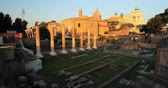 Рим : Rome, Italy. Ruins of Roman Forum In Historic Centre Of Rome Is A UNESCO World Heritage Site.