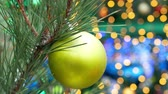 Christmas New Year decoration Stock Footage
