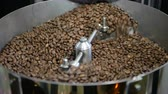 Coffee beans factory mixing