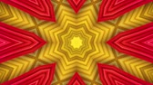 калейдоскоп : Abstract colorful motion background. Kaleidoscope. Seamless loop. Стоковые видеозаписи