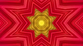 на линии : Abstract colorful motion background. Kaleidoscope. Seamless loop. Стоковые видеозаписи