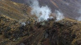 tongariro : Steam activity in New Zealand