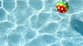 beach ball : Ball in the water