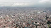 Bogota, Colombia from above Wideo
