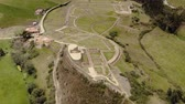 andy : Ingapirca archeological ruins in Ecuador, aerial view