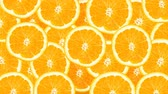 frutoso : Sunny citrus background. 4k Vídeos