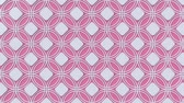 arte islamico : Arabesque looping geometric pattern. Pink and white islamic 3d motif. Arabic oriental animated background. Muslim moving wallpaper. Asian ornament with circles. Ethnic design element decoration. Archivo de Video