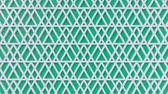 arte islamico : Arabesque looping geometric pattern. Green and white islamic 3d motif. Arabic oriental animated background. Muslim moving wallpaper. Asian ornament with triangles. Ethnic design element decoration. Archivo de Video