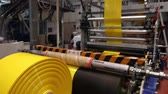 tubular : Factory Plastic line machinery Stock Footage