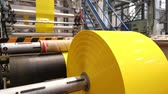 tubular : Yellow plastic bags manufacturing process