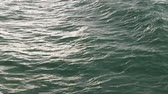 blue sea : Ocean water with small waves Stock Footage