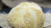 ingredient : Sesame Buns (not loopable) Stock Footage