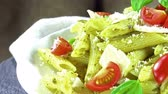 песто : Fresh made Penne with Pesto Sauce (seamless loopable)