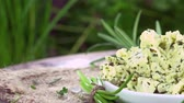 meal : Herb butter (not loopable) Stock Footage