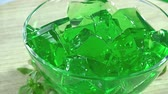flavour : Homemade Woodruff Jelly Dessert loopable