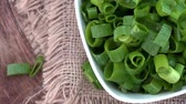 chalota : Rotating Scallions not loopable, 4K