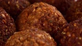 レタス : Fresh made Falafel (rotating) as seamless loopable 4K UHD footage) 動画素材
