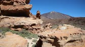 weather : Mountain landscape Volcano landscape desert valley Pico del Teide