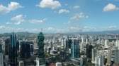 urbane : Panama City, Panama - march 2018: Modern skyscraper buildings, downtown skyline aerial, Panama City