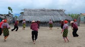 panama city : Guna Yala, Panama - March 2018: Traditional dance of Kuna People, indigenous people of Guna Yala, San Blas Islands, Panama