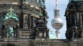 The Tv Tower and Berlin Cathedral in Berlin