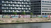 urbane : The Berlin Wall (Berlin) on a sunny summer day in Berlin, Germany