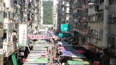 life is good : Fa Yuen Street Market in Mong Kok. It is a famous street market in Hong Kong