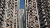 High-rise residential buildings in Hong Kong, urban residential real estate