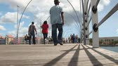 holandia : Pontoon bridge of Willemstad, Curacao Wideo