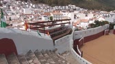 sol : Bull fighting arena in Mijas, Spain