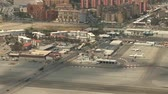 скрестив : Gibraltar - border and airport Стоковые видеозаписи