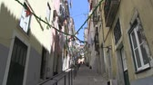 terremoto : Stairs in a Lisbon alley