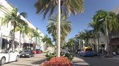 exclusivo : Lapso de tiempo de Rodeo Drive en Beverly Hills, California